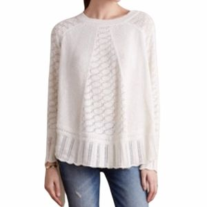 Angel of the North Nulia Circle Hem Poncho Sweater